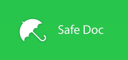 Safe doc banner