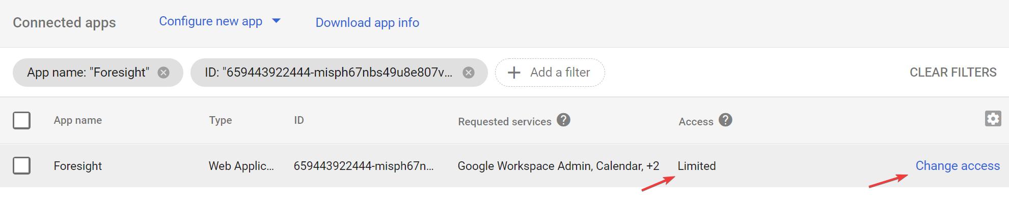 Foresight in Google API Controls srcset=