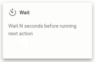 Wait action in Foresight